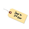 Double Wired Shipping Tags, 13pt. Stock, 2 3/4 X 1 3/8, Manila, 1,000/box