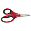 "Softgrip Scissors for Kids, 5"" Length, 1-3/4"" Cut, Pointed Tip, Assorted"