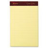 Gold Fibre Writing Pads, Jr. Legal Rule, 5 x 8, Canary, 50 Sheets, 4/Pack