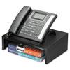 Designer Suites Telephone Stand, 13 X 9 1/8 X 4 3/8, Black Pearl