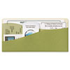Decorative Wall Pockets, Cottage, 8 x 4, Green/Off White