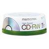 CD-RW 8x-12x, 700MB/80 min, High-Speed, Spindle, Silver, 25/Pack promo code 2016