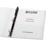 C-Line® Peel & Stick Add-On Filing Pocket
