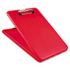 Slimmate Storage Clipboard, 1/2 Clip Cap, 8 1/2 X 11 Sheets, Red