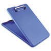 """SLIMMATE STORAGE CLIPBOARD, 1/2"""" CLIP CAPACITY, HOLDS 8 1/2 X 11 SHEETS, BLUE"""