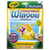 Picture of Washable Window FX Markers Conical Astd Crystalized Colors 8Set