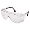Ultraspec 2001 Otg Safety Eyewear, Clear/black Frame, Clear Lens