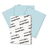 Digital Vellum Bristol Color Cover, 67 lb, 8 1/2 x 11, Blue, 250 Sheets/Pack