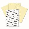 Digital Vellum Bristol Color Cover, 67 Lb, 8 1/2 X 11, Canary, 250 Sheets/pack