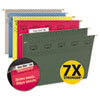 Smead® TUFF® Hanging Folders with Easy Slide™ Tab