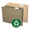 Smead® 100% Recycled Colored Hanging File Folders