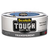 Scotch® Tough Duct Tape - Transparent