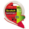 "Sure Start Packaging Tape W/dispenser, 1.88"" X 38.2 Yards, 3"" Core, Clear"