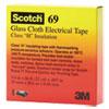 "Scotch 69 Glass Cloth Electrical Tape, 3/4"" x 66ft"