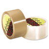 Scotch 371 Industrial Box Sealing Tape, Clear, 48mm X 50m