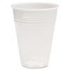 TRANSLUCENT PLASTIC COLD CUPS, 7OZ, POLYPROPYLENE, 100/PACK