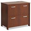 Envoy Series Two-drawer Lateral File, 32w X 20d X 30 1/4h, Hansen Cherry