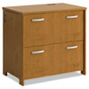 Envoy Series Two-Drawer Lateral File, 32w x 20d x 30 1/4h, Natural Cherry