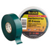 Scotch 35 Vinyl Electrical Color Coding Tape, 3/4 X 66ft, Green