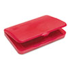 Carter's® Felt Stamp Pad, 4 1/4 x 2 3/4, Red
