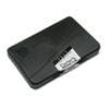 Felt Stamp Pad, 4 1/4 x 2 3/4, Black