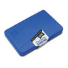 Micropore Stamp Pad, 4 1/4 X 2 3/4, Blue