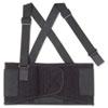 Proflex 1650 Economy Elastic Back Support, Large, Black