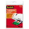 Photo Size Thermal Laminating Pouches, 5 Mil, 7 X 5, 20/pack