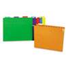 Universal® Bright Color Hanging File Folders