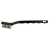 Utility Brush, Stainless Steel Bristles, Plastic Handle