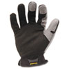 Workforce Glove, X-Large, Gray/black, Pair