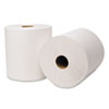 EcoSoft Hardwound Roll Towels, 800 ft x 8 in, White, 6 Rolls/Carton