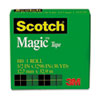 "Magic Tape, 1/2"" x 1296"", 1"" Core, Clear"