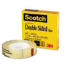 Double-Sided Tape, 1/2 X 900, 1 Core, Clear