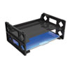 Universal® Recycled Plastic Side Load Desk Trays