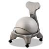 Fitpro Ball Chair, 50cm Diameter X 74cm High, Gray