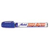 Valve Action Paint Marker, Blue