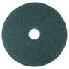 Cleaner Floor Pad 5300, 17 Diameter, Blue, 5/carton