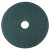 Cleaner Floor Pad 5300, 19 Diameter, Blue, 5/carton