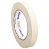 Utility Grade Masking Tape, 3/4 X 60yds, Crepe