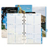 Coastlines® two-page-per-week organizer refill.