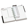Two-page-per-day reference format planner refill.