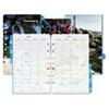 Coastlines® two-page-per-month organizer refill.