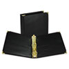"Classic Collection Ring Binder, 11 x 8 1/2, 2"" Cap, Black"