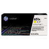 Click here for HP 651A  (CE342A) Yellow Original LaserJet Toner C... prices