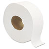 Jumbo Jrt Bath Tissue, 2-Ply, White, 9 In Diameter, 12 Rolls/carton
