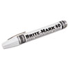 Brite-Mark 40 Paint Marker, Bullet Tip, White
