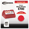 Compatible 769-0 Postage Meter Ink, Red