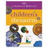 American Heritage Children's Thesaurus, Hardcover, 2016, 288 Pages