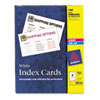 Avery® Laser & Inkjet Index Cards
